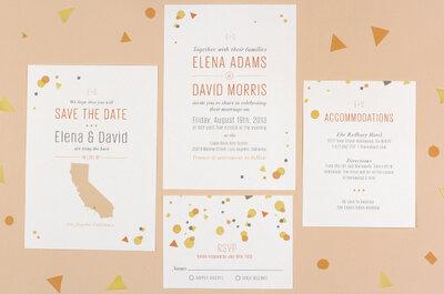Invitaciones de boda creativas 2013