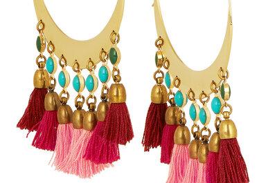 Los aretes más originales para un look de fiesta: Piezas de joyería que te harán soñar