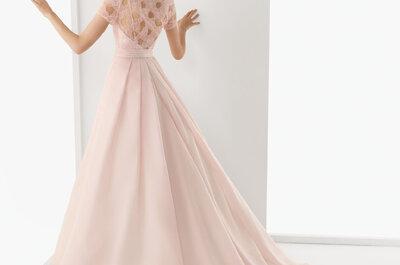 Abiti sposa 2013 colore rosa