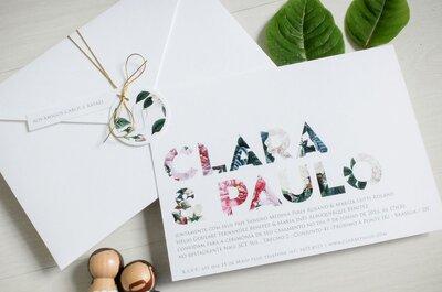 Convites de casamento em Brasília: conheça os 4 melhores fornecedores!