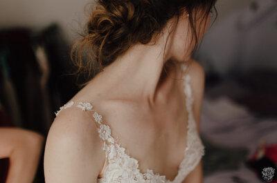 Quelle coiffure choisir en fonction de votre robe de mariée