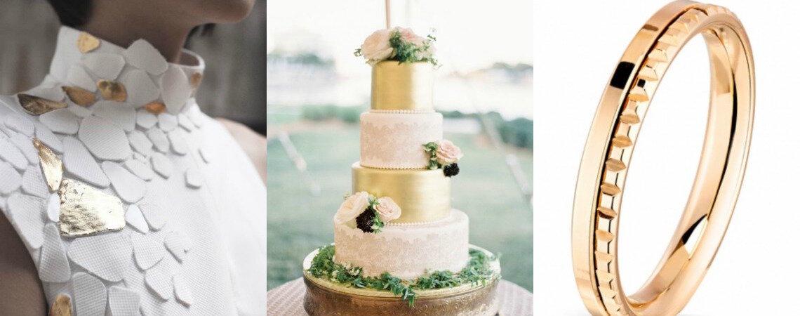 Un mariage doré : des idées pleines de pep's pour un résultat chic !