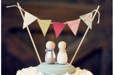 Los muñecos para pastel de bodas más originales del 2013