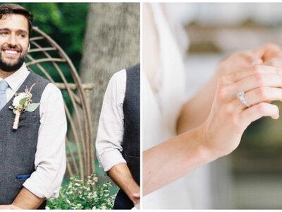 Novios a la moda: 7 estilos de alianzas para hombre, ¿cuál va más contigo?