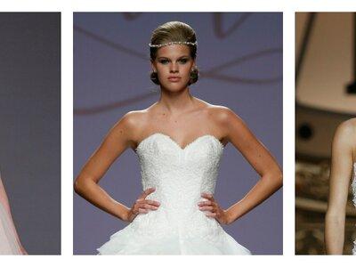 Die schönsten Brautkleider mit Herzausschnitt 2016: Liebevolle Designs für die verspielte Braut!