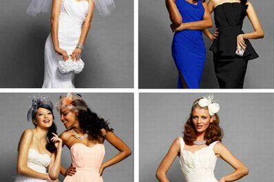 Bebe Goes Bridal: New Line of Wedding Gowns, Bridesmaid Dresses & Accessories