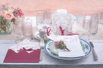 Come scegliere il nome per i tavoli del mio matrimonio? Ecco le idee più originali