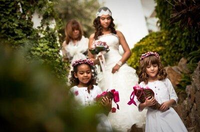 Consejos para que los niños se porten bien durante la boda
