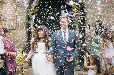 Real Wedding: Una boda súper original realizada en una vieja prisión
