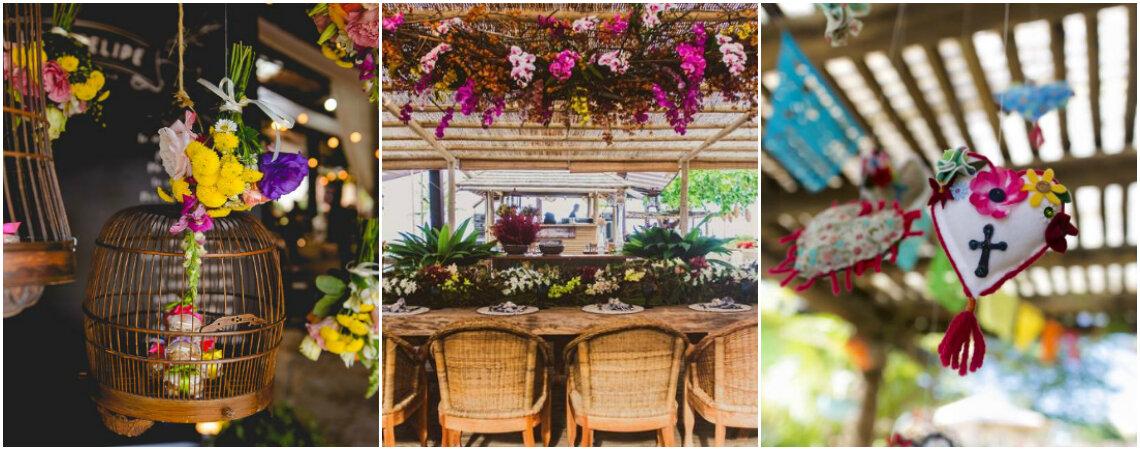 """Decorazioni """"aeree"""": piante, fiori, lampadari e molto altro!"""