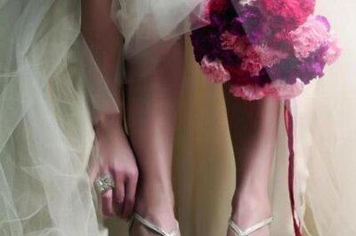 Zapatos de novia acorde con tu personalidad, ¡encuéntralos!