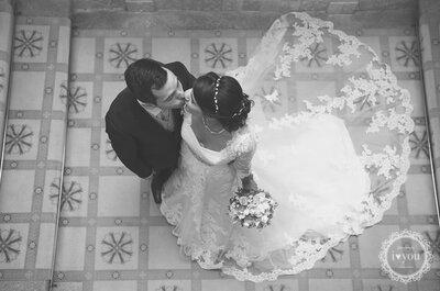 Marina e João: casar num Palácio de inverno