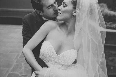 Mis ojos y mi alma brillan por ti, sólo por ti: La boda de Luisa y Marco