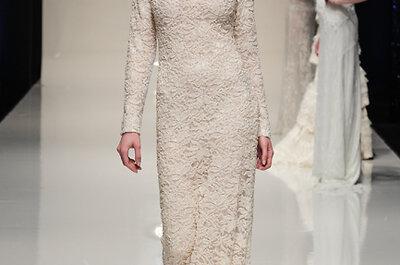30 Brautkleider mit Spitze - ein Trend für 2014