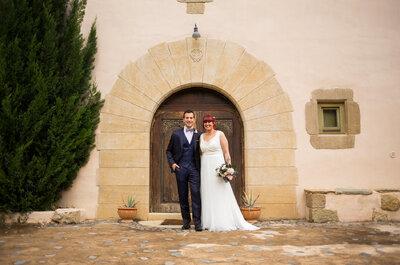 Inmensamente felices: la boda sin protocolos de Anaïs y Adrià