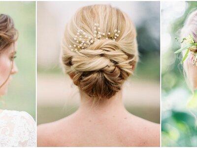 Penteados de noiva com cabelo preso 2017: sensacionais!