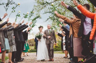 Mistrzyni organizacji: autorska choreografia, dekoracje ślubne oraz sesja w słoneczno-deszczowy dzień!