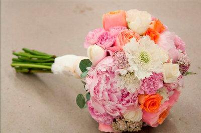 Farbenfroher Brautstrauß für Ihre Traumhochzeit im Frühling und Sommer 2015?