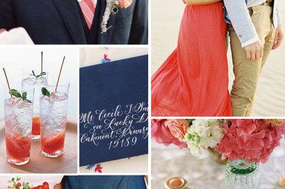 Como decorar um casamento em tons de vermelho?