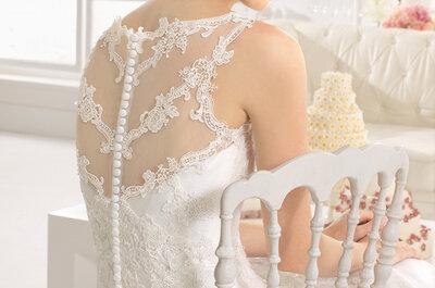 Rückenausschnitte der Aire Barcelona Brautkleider-Kollektion 2015