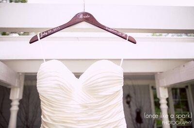 La foto de boda de la semana: El vestido