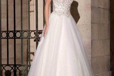 Découvrez l'élégance de la nouvelle collection de robes de mariée Mori Lee.