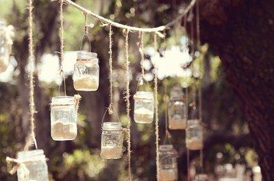 Estilo colgante: Conoce lo mejor de la tendencia en decoración suspendida para boda