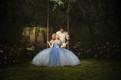 Inspirez-vous du look de Cendrillon et soyez la plus belle des mariées