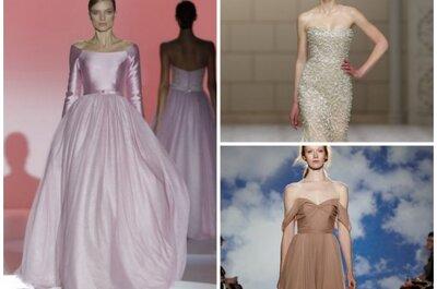 Die schönsten farbigen Brautkleider 2015