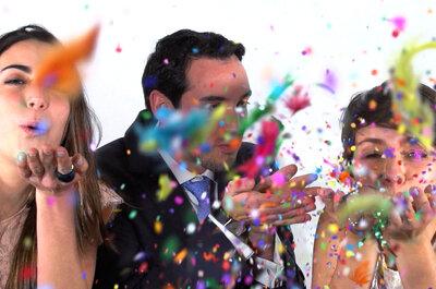 ¿Slow Motion para mi boda? Obtén un video divertido y original