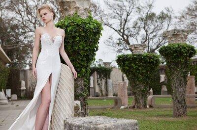 Seksowne suknie i spodnie ślubne z kolekcji Simijan Bozaglo 2013