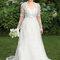 Vestido de noiva tamanho plus size. Foto:  via CharliesBridal.com