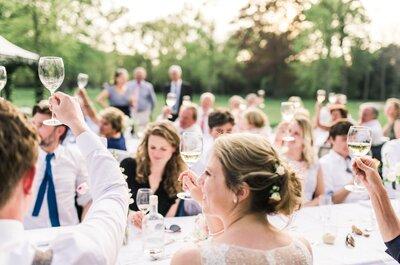 6 overaanwezige gasten die op elke bruiloft te vinden zijn