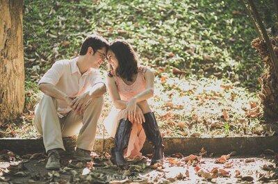 Como convencer seu noivo a fazer um ensaio pré-casamento: 9 razões infalíveis!
