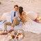 Ślub na plaży Foto: Danielle Capito