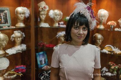 Véu, flores ou chapéu? Acessórios para a cabeça da noiva no Casamoda Noivas 2013