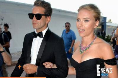 Scarlett Johansson se compromete con Romain Dauriac