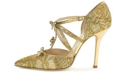 Con tacones todo se ve mejor: Los zapatos de fiesta de Oscar de la Renta que transformarán tu look