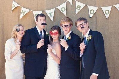 5 ideas divertidas para hacer el photocall de tu boda