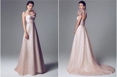 Una novia vestida de rosa: Blumarine colección 2014