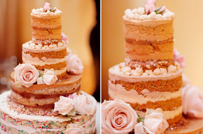 Top trends: Torta de bodas sin cobertura