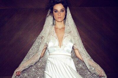 Sensual colección de novias de Zahavit Tshuba