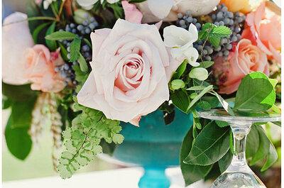 Sehen Sie hier wunderbare Ideen für die Hochzeits-Tischdekoration