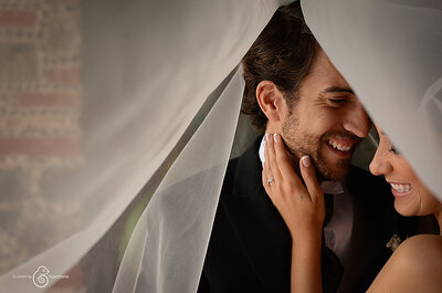 Pamela + Carlos: Felicidad y amor en una historia que conquista a la distancia... ¡Una boda preciosa!