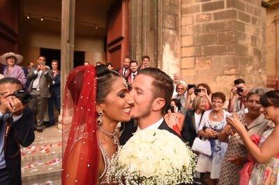 Nikki et Lauris : un magnifique mariage franco-indien en Provence rempli de couleurs !