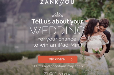 Zankyou's second International Survey giving you the chance to Win an iPad Mini!
