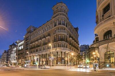 El cielo de Madrid espera vuestra boda en un espacio que combina pasado, presente y futuro