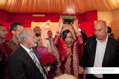 Реальная свадьба в Париже: Misba & Hannan