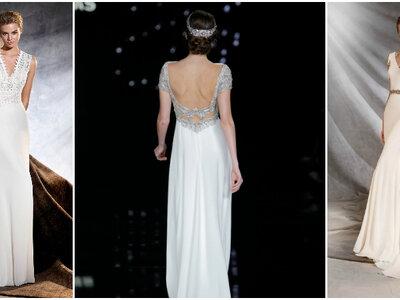 Os mais incríveis tecidos para vestidos de noiva 2017. Não perca!