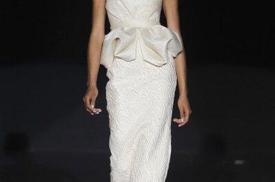 Brautkleider von Hannibal Laguna aus der Kollektion 2012 für die sexy Braut